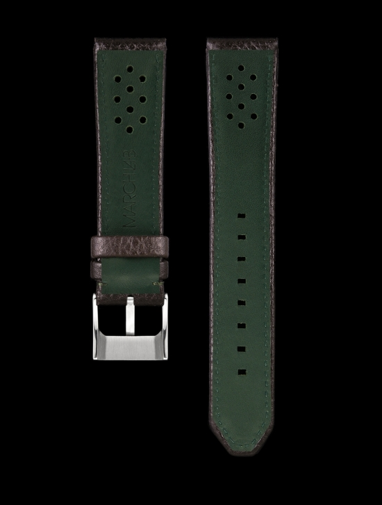 WATCH BRACELET PERLON MENTHE 18MM